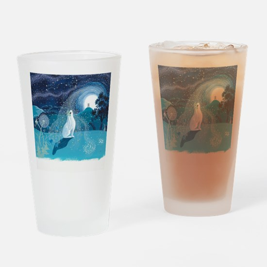 Funny Hare Drinking Glass