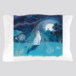 Moon Gazing Hare Pillow Case