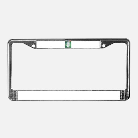Cute Avalon License Plate Frame