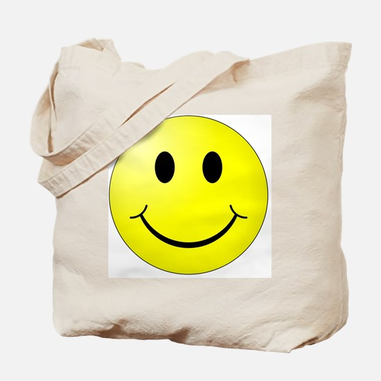 Unique Yellow smiley face Tote Bag