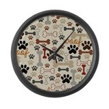 Dog Giant Clocks