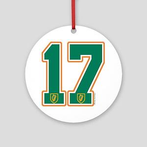 IE Ireland(Eire/Erin) Hockey 17 Ornament (Round)