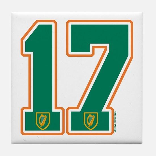 IE Ireland(Eire/Erin) Hockey 17 Tile Coaster