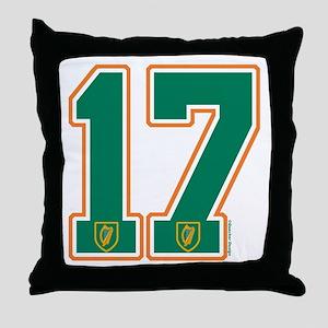 IE Ireland(Eire/Erin) Hockey 17 Throw Pillow