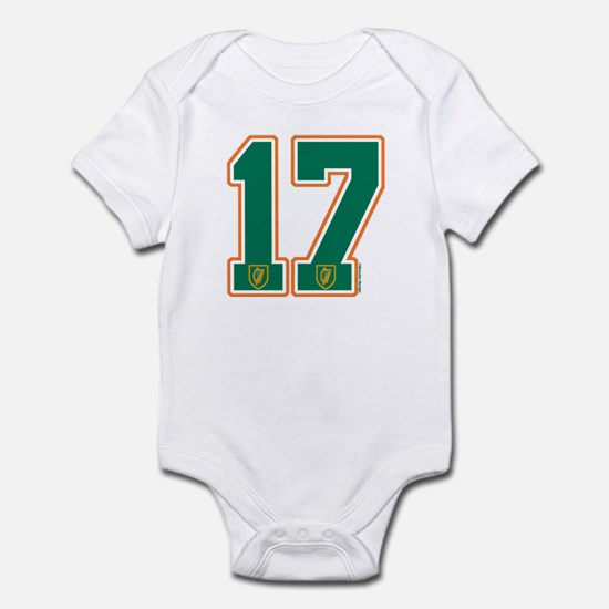 IE Ireland(Eire/Erin) Hockey 17 Infant Bodysuit