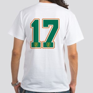 IE Ireland(Eire/Erin) Hockey 17 White T-Shirt