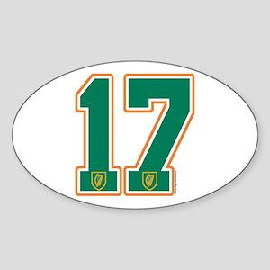 IE Ireland(Eire/Erin) Hockey 17 Oval Sticker