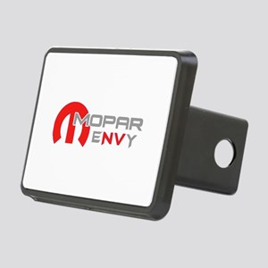 Red Envy Rectangular Hitch Cover