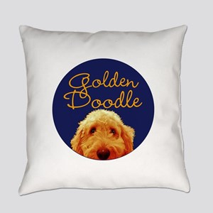 Golden Doodle Everyday Pillow