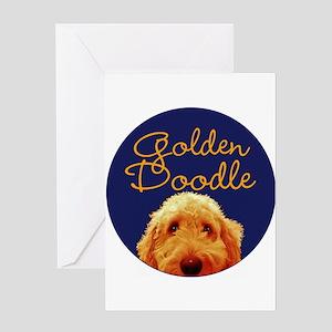 Golden Doodle Greeting Cards