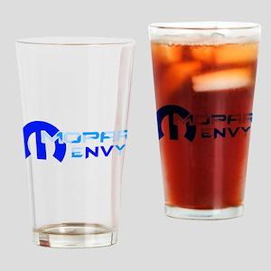 Blue Gradient Logo Drinking Glass