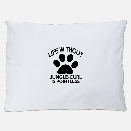 Life Without Jungle-curl Cat Designs Dog Bed