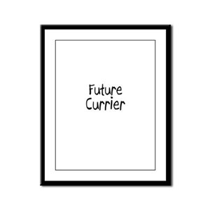 Future Currier Framed Panel Print