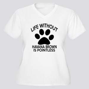 Life Without Hava Women's Plus Size V-Neck T-Shirt