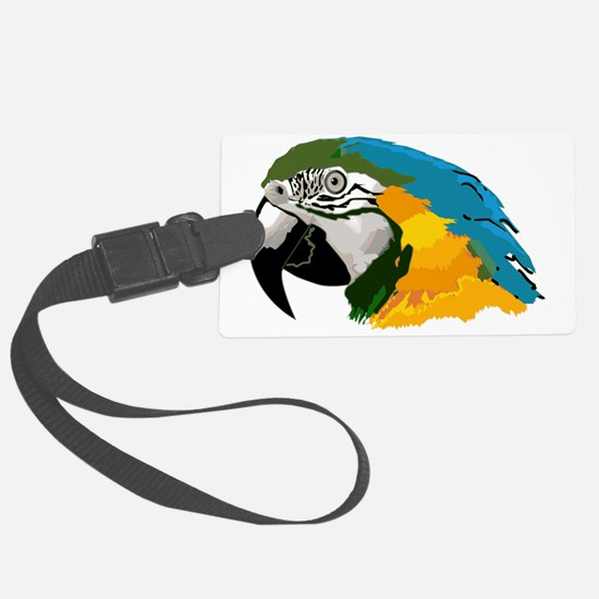 Cool Gold finch Luggage Tag