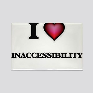 I Love Inaccessibility Magnets