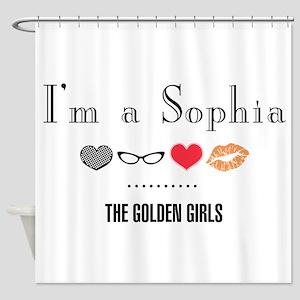 I'm A Sophia Shower Curtain