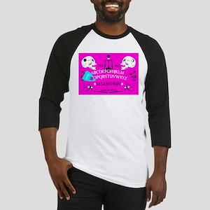 pink ouija Baseball Jersey