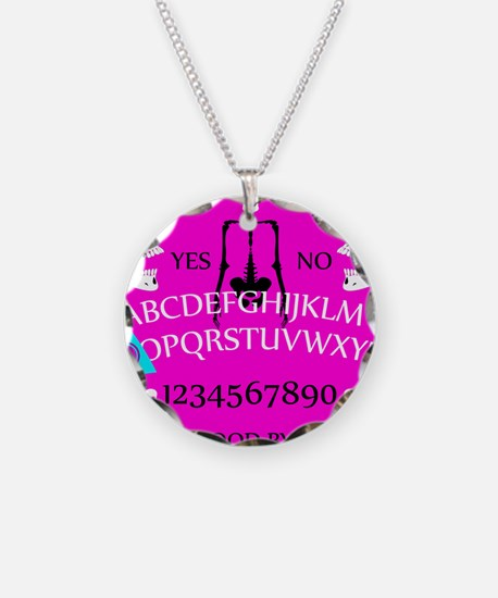 pink ouija Necklace