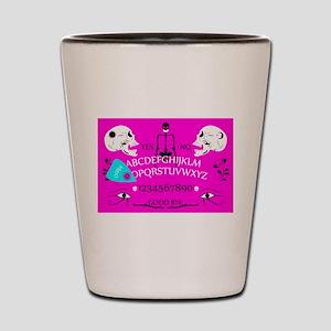 pink ouija Shot Glass
