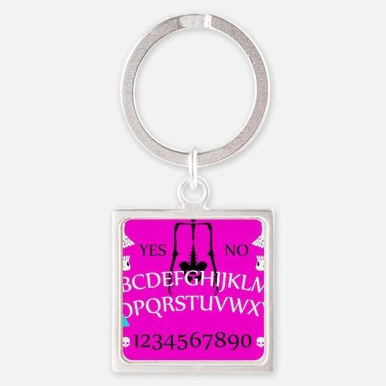 pink ouija Keychains