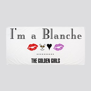 I'm A Blanche Beach Towel