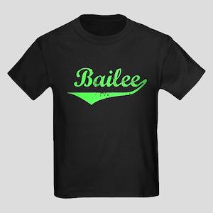 Bailee Vintage (Lt Gr) Kids Dark T-Shirt