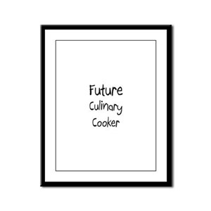 Future Culinary Cooker Framed Panel Print