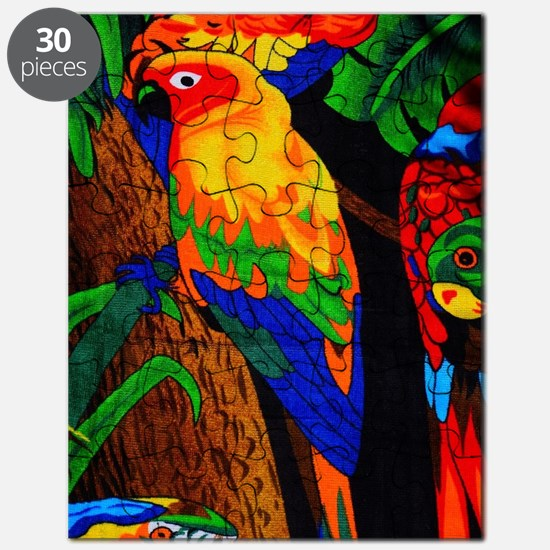 Cool Gold finch Puzzle