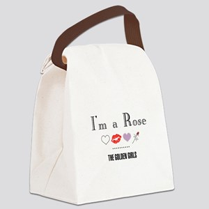 I'm A Rose Canvas Lunch Bag