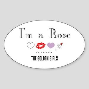 I'm A Rose Sticker (Oval)