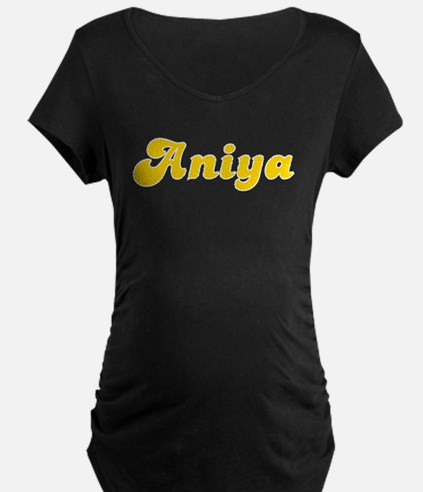 Aniya Fancy (Gold) T-Shirt