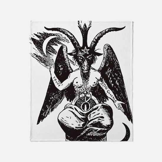 Unique Pentagram Throw Blanket
