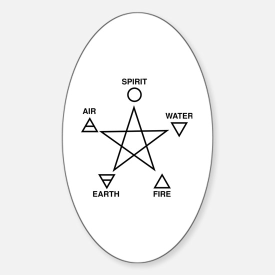 Unique Witch halloween Sticker (Oval)