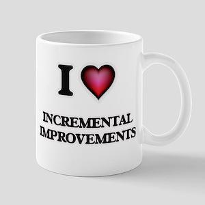 I Love Incremental Improvements Mugs