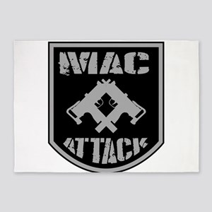 Mac Attack 5'x7'Area Rug