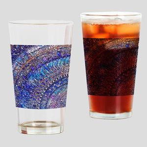 Midnight Jewel Mandala Drinking Glass