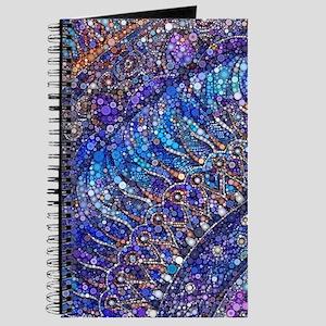 Midnight Jewel Mandala Journal