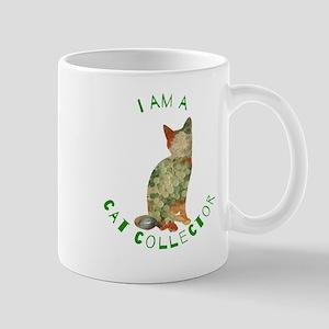 I AM A Cat Collector Mugs