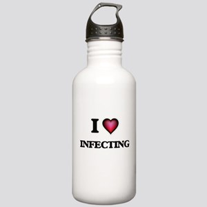 I Love Infecting Stainless Water Bottle 1.0L