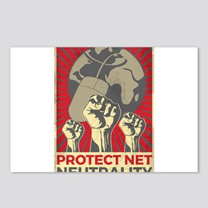 Protect Net Neutrality Postcards (Package of 8)