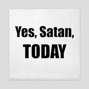 Yes, Satan, TODAY Queen Duvet