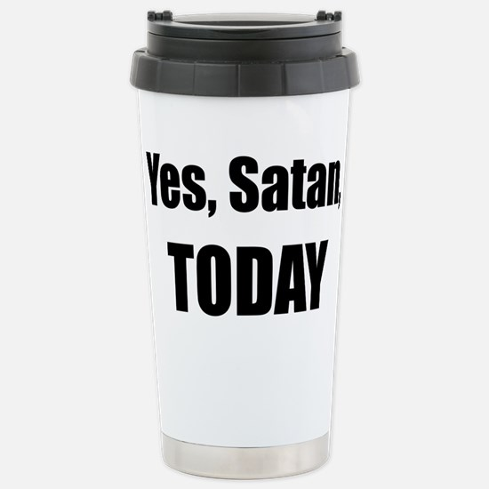 Yes, Satan, TODAY Mugs