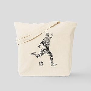 Soccer Football Languages Tote Bag