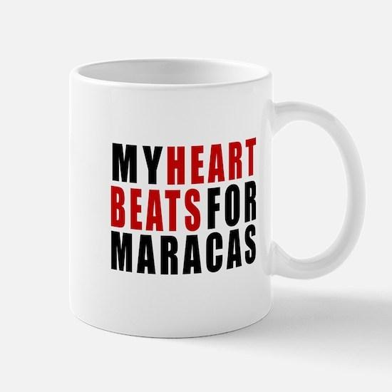 My Heart Beats For Maracas Mug