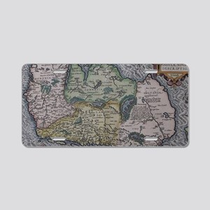 Vintage Map of Ireland (159 Aluminum License Plate