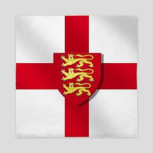 England Three Lions Flag Queen Duvet