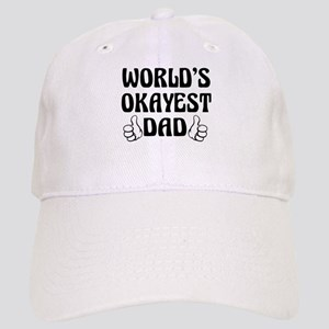 World's Okayest Dad Baseball Cap