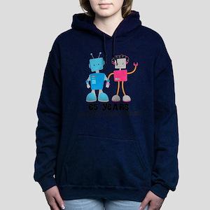 65 Year Anniversary Robot Couple Sweatshirt