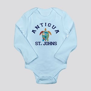 Antigua. Long Sleeve Infant Bodysuit